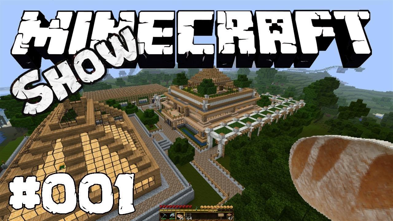 Die Minecraft Show mit Lucas und Gadarol