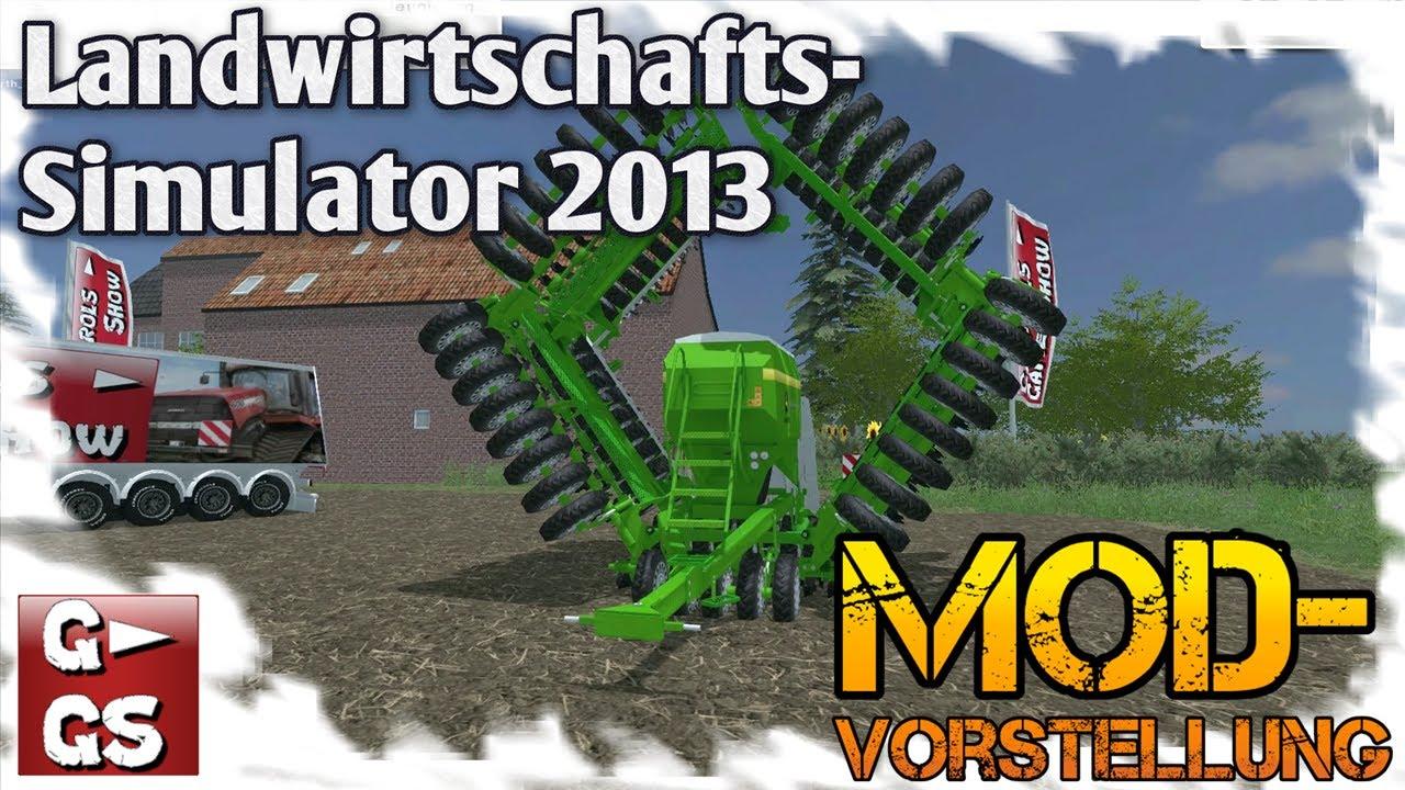 LS2013 Modvorstellung John Deere Multi Seeder 18L Sämaschine LS13 Landwirtschafts Simulator