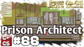 Prison Architect #88 Festplattevollende Alpha 17 Gefängnis Simulator Manager deutsch HD Lets Play