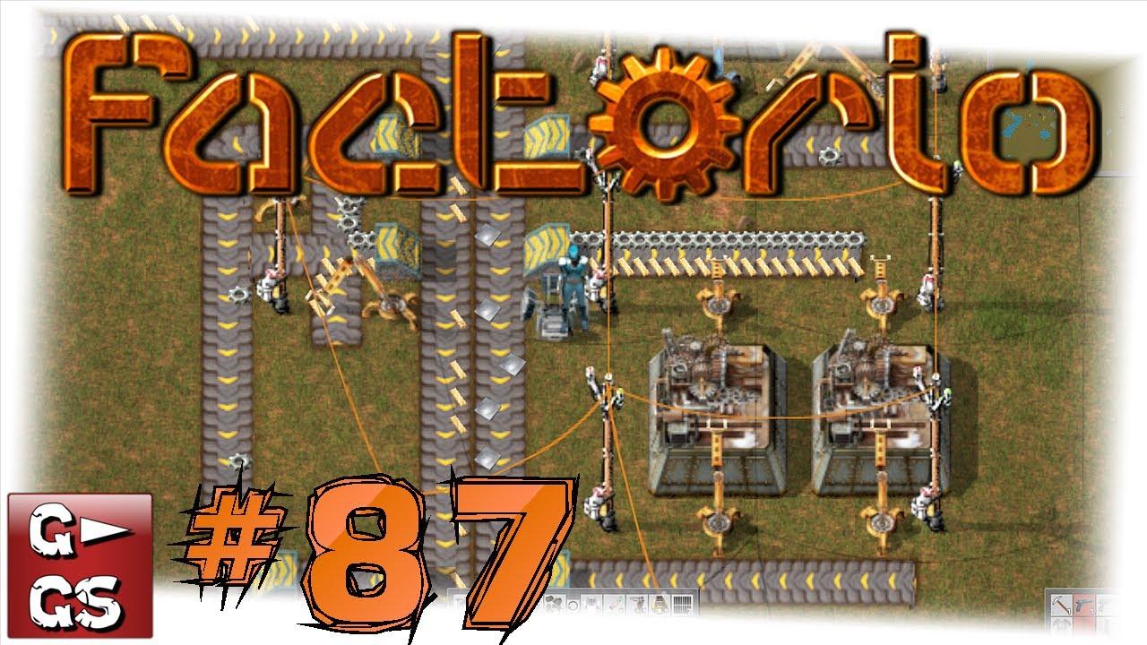 Factorio #87 Wir verbarrikadieren uns Der Industrie und Fabrik Simulator und Manager deutsch HD
