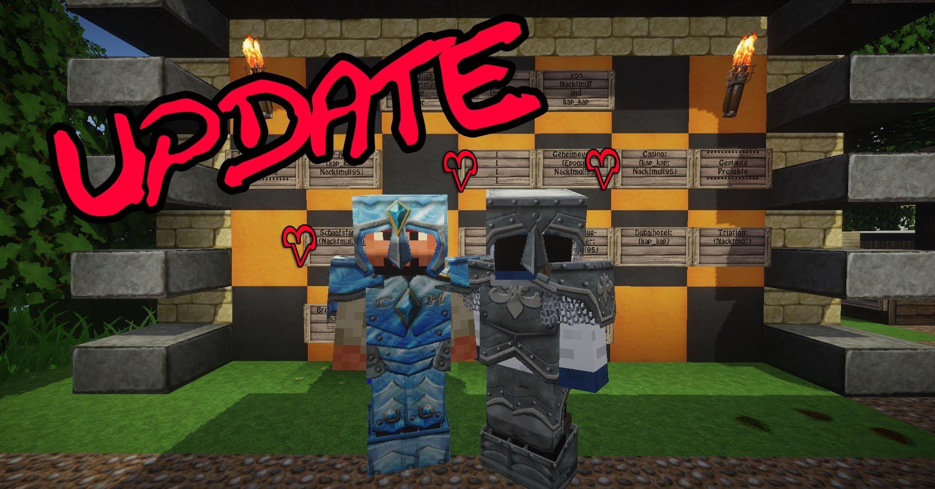 Minecraft braucht Dich! || Update