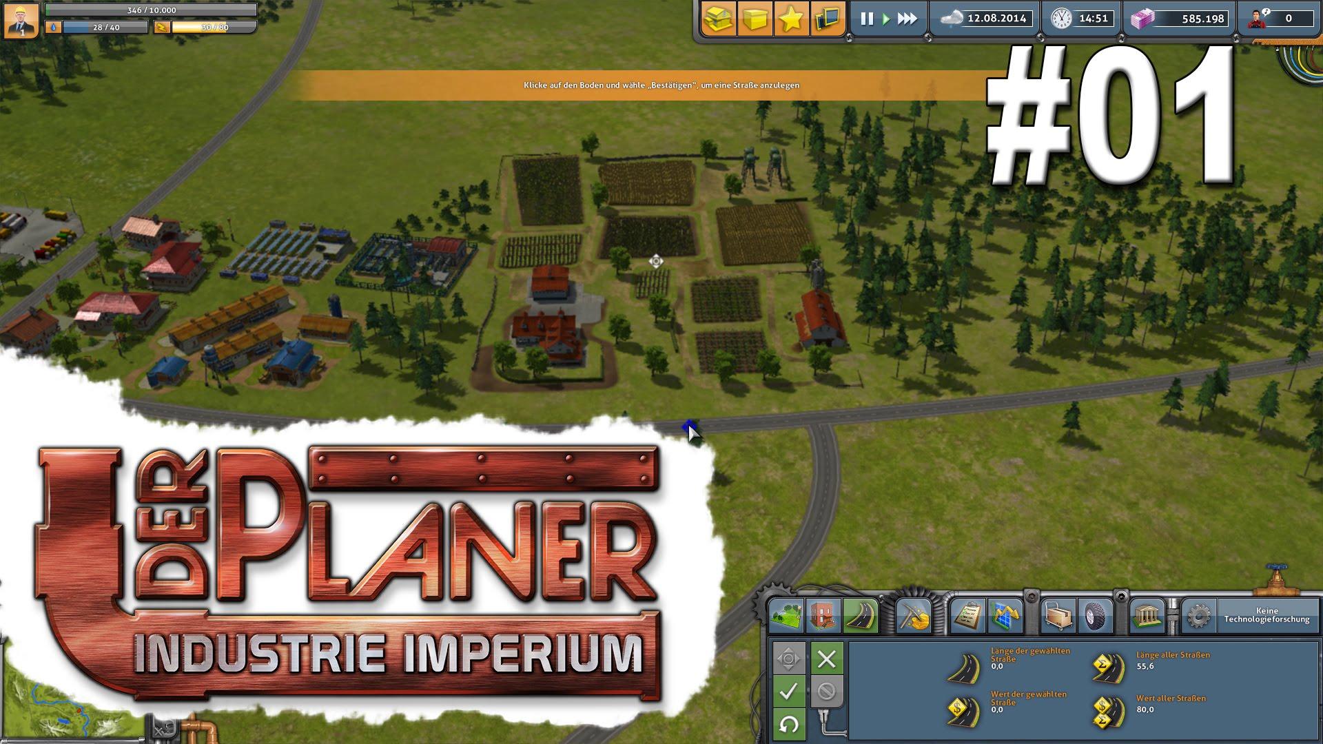 Der Planer Industrie-Imperium #1 Die ersten Eindrücke des Wirtschafts Managers deutsch HD