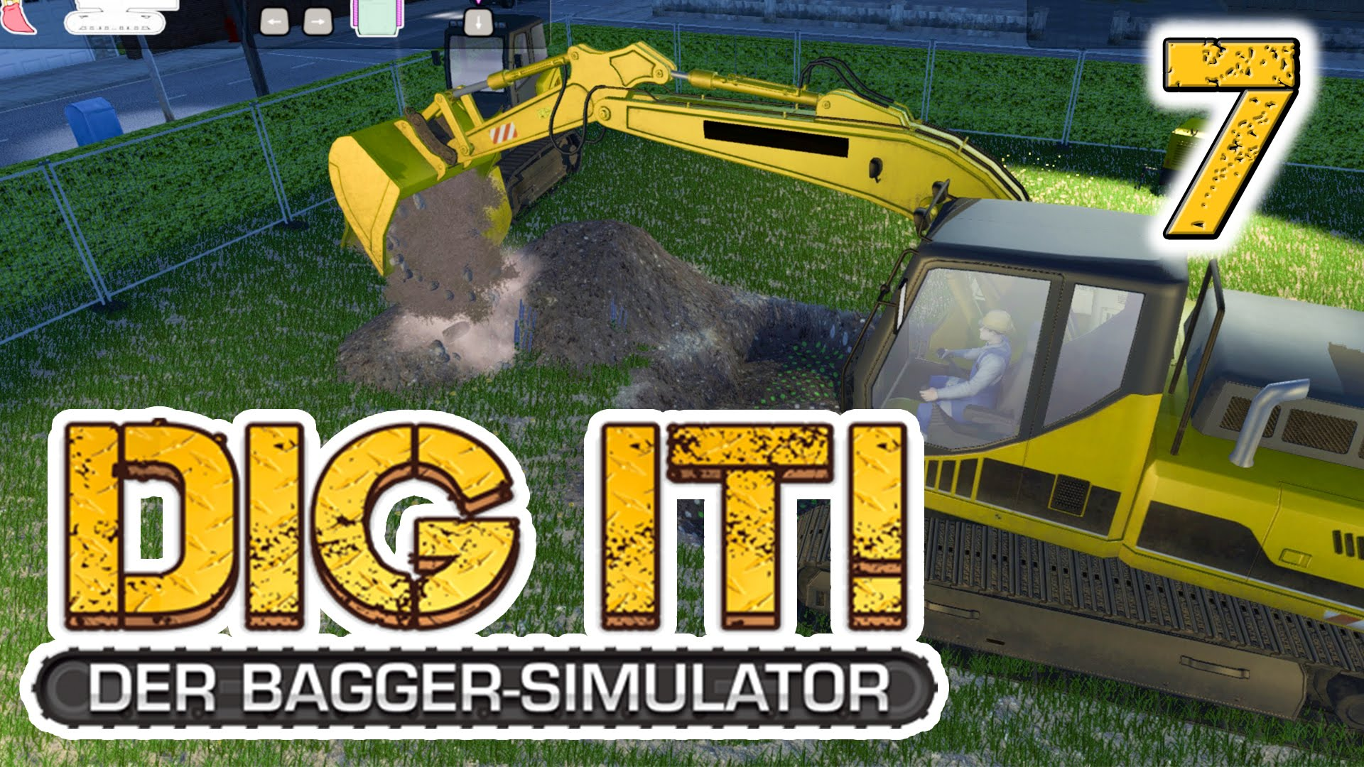 DIG IT! Der Bagger Simulator #7 Eine Geothermalheizung Lets Play DIG IT! Deutsch german