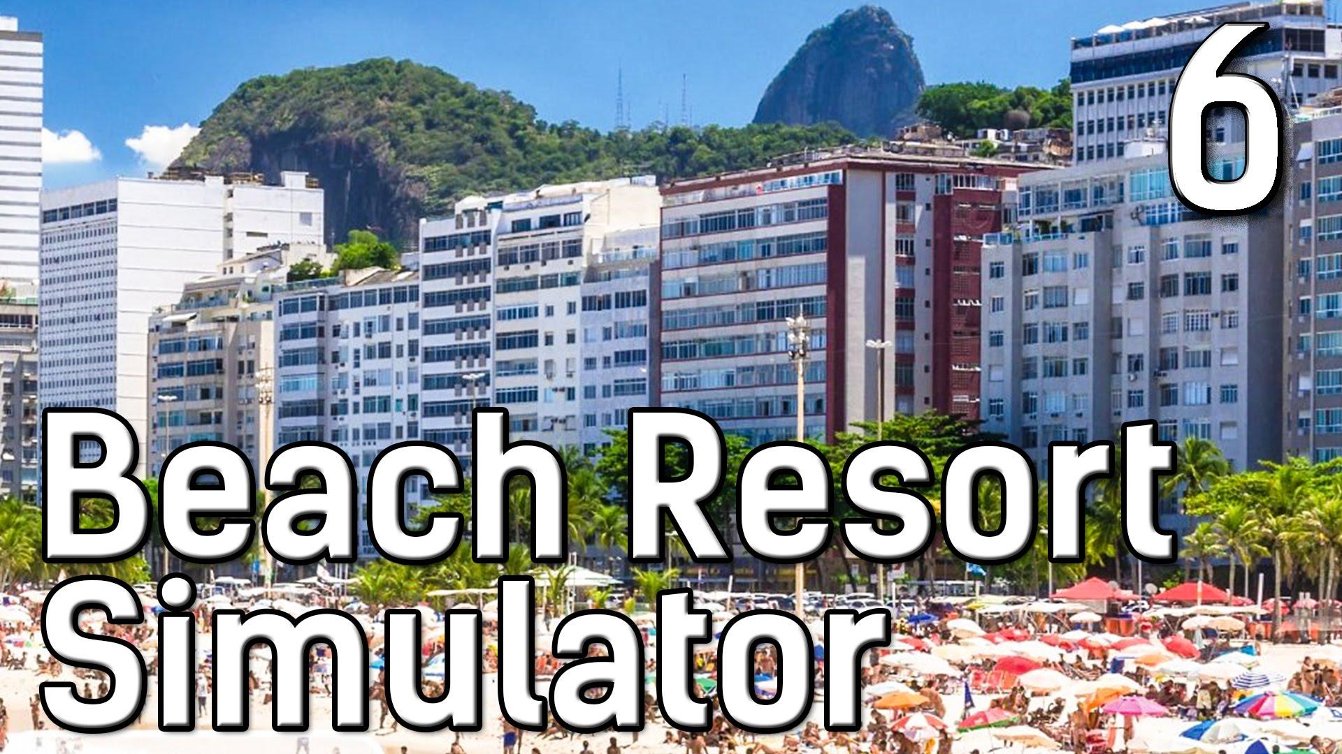 Beach Resort Simulator #6 Ein Kasino für die Reichen Die Traumstrand Management Simulation