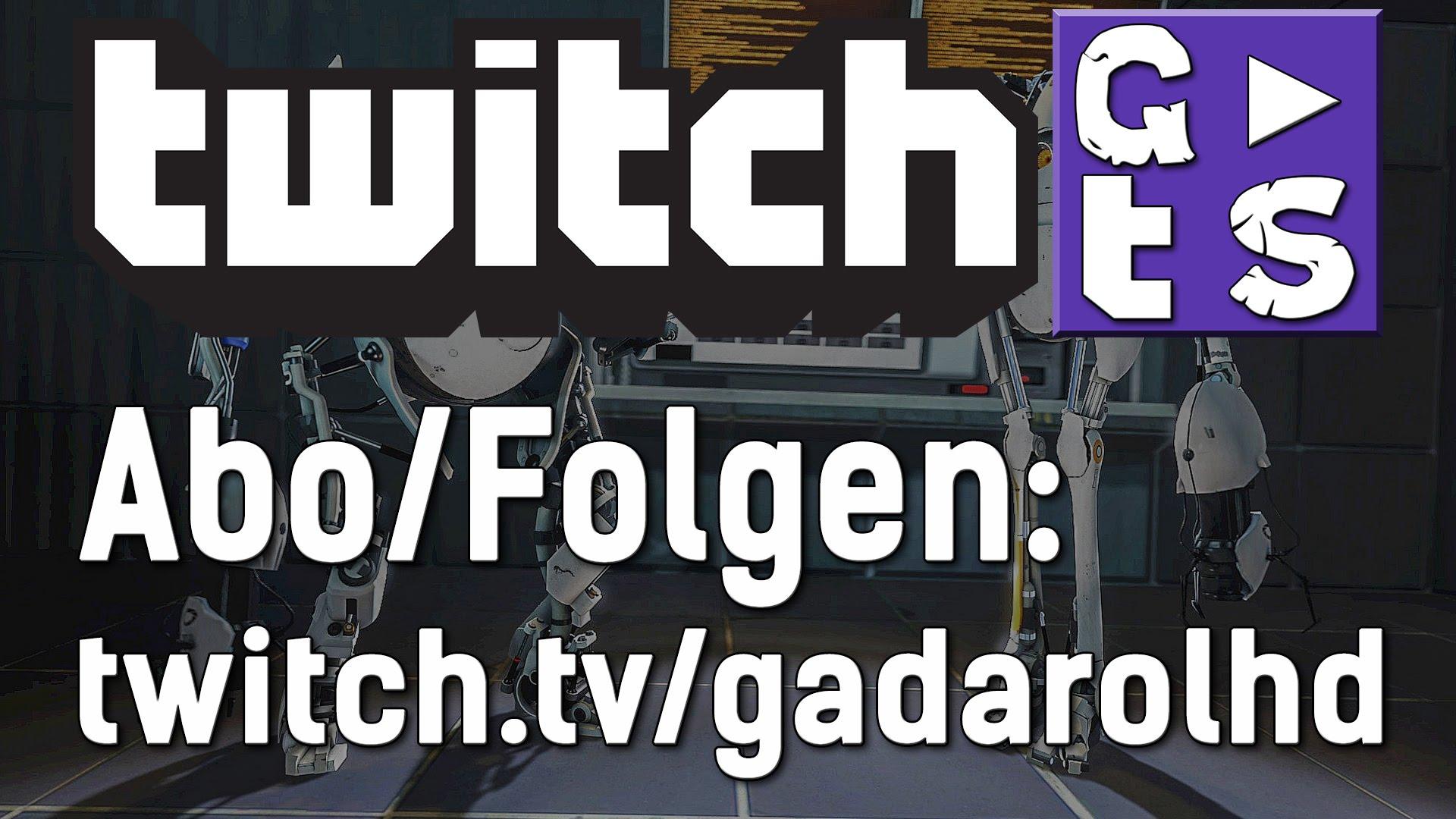 Gadarol LIVE! auf twitch.tv/GADAROLHD – Jetzt FOLGEN & nichts verpassen!