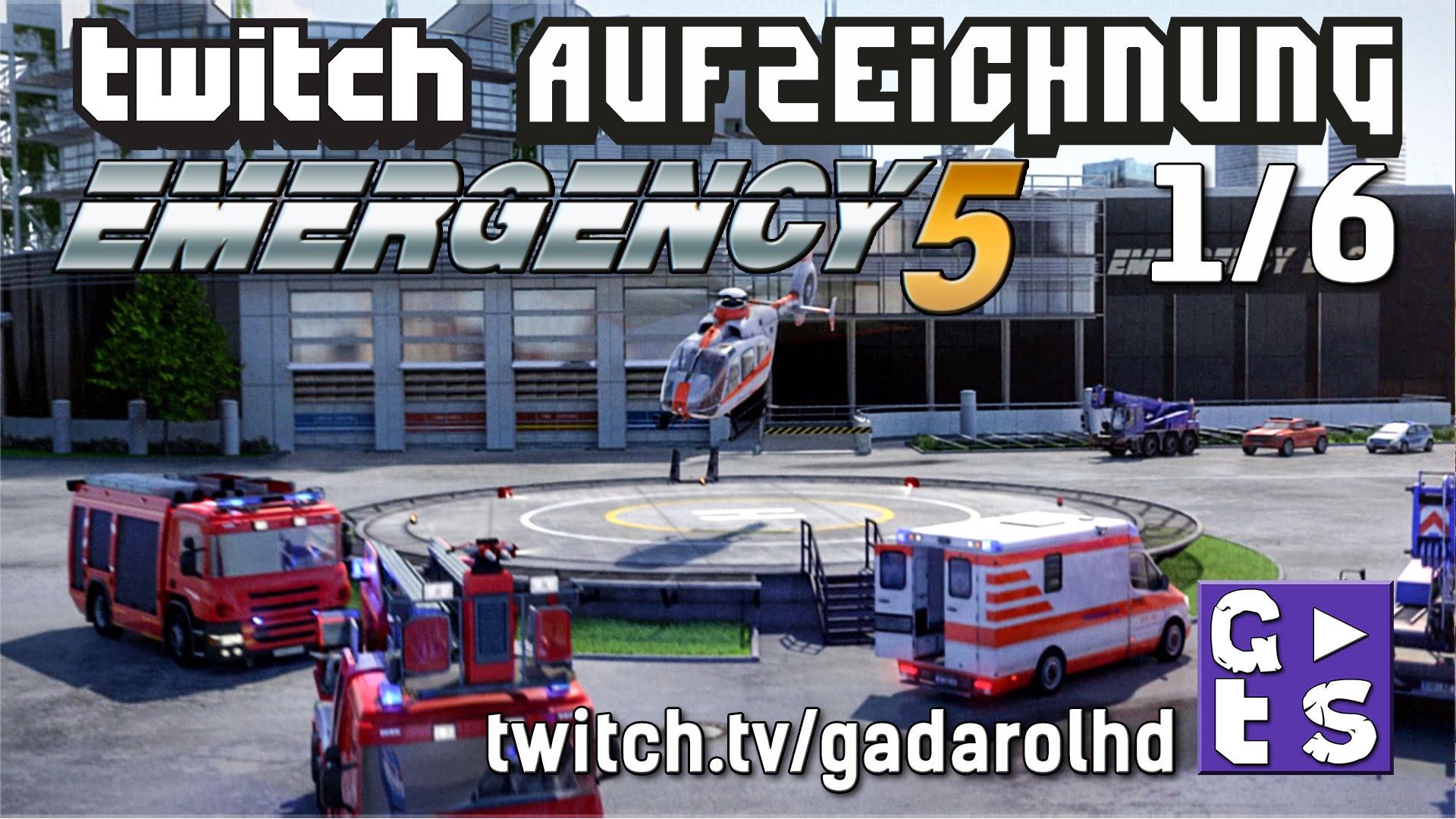 Gadarol LIVE: Emergency 5 #1 mit Community Talk – bevor ich alles falsch mache! #gadalive