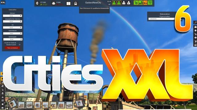 Cities XXL #6 Upgrades kaputt Der Städtebau Simulator mit Wirtschaft und Transport deu