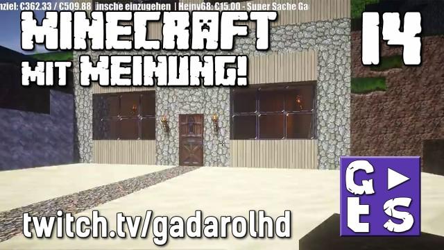 Gadarol DIREKT Minecraft mit Meinung #14 Eure Fragen zur Selbständigkeit twitch HD Commentary