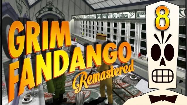 Grim Fandango #8 Der Bieber brennt Adventure Classic BLIND HD Remake