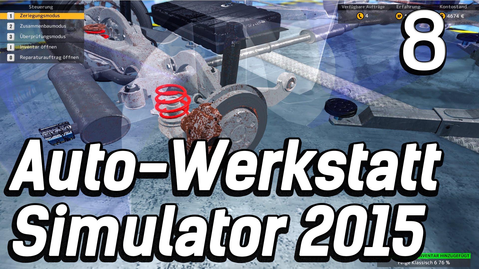 Auto-Werkstatt-Simulator-2015-8-Noch-mehr-Rost-und-alte-Teile-Car-Mechanic-Lets-Play-deutsch-HD-attachment