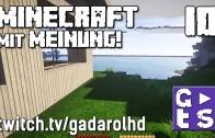 Gadarol DIREKT Minecraft mit Meinung #10 Nintendos traurige Ideen twitch HD Commentary
