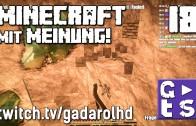 Gadarol DIREKT Minecraft mit Meinung #18 Bahn Feedback aus der Lok twitch HD Commentary