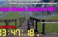 Gadarol LIVE! Heute 19:00 Uhr auf twitch.tv/gadarolhd