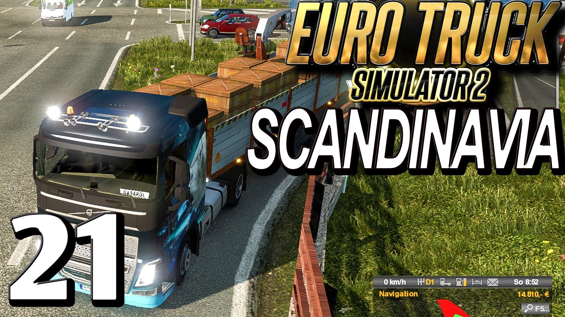 ETS2 SCANDINAVIA #21 Dachschadenprofiling Euro Truck Simulator 2 DLC deutsch