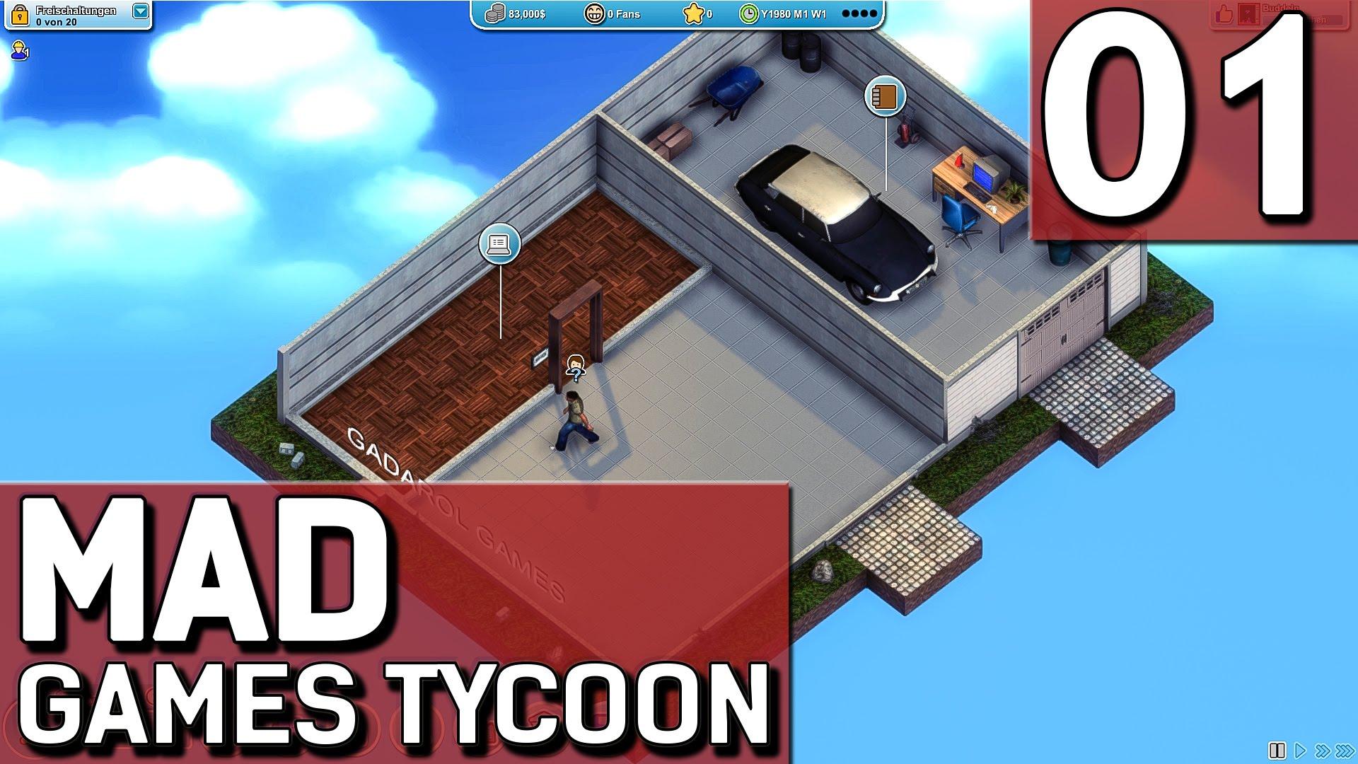 Mad Games Tycoon 1 Mein Eigenes Game Entwickler Studio Attachment