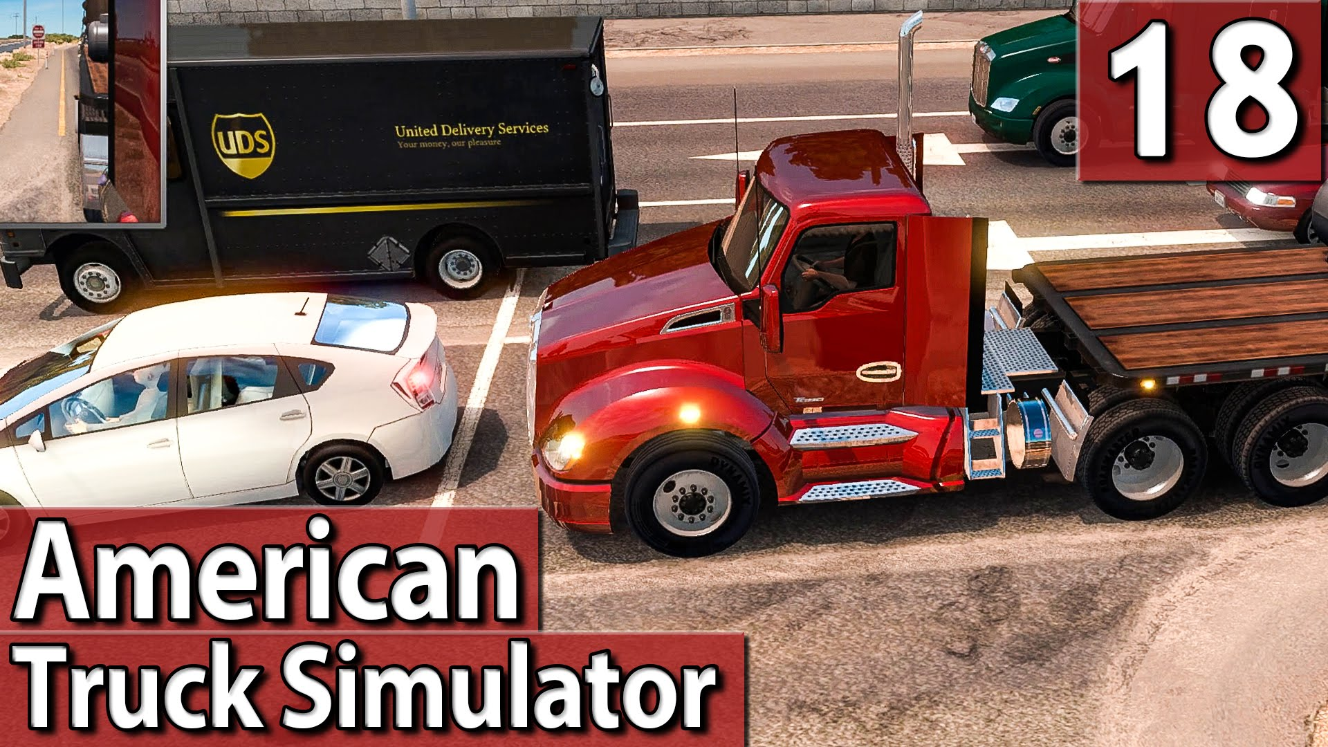 AMERICAN TRUCK SIMULATOR #18 Stop And Go Ampel PlayTest deutsch