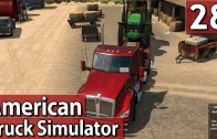 AMERICAN TRUCK SIMULATOR #28 John Deere Transport PlayTest deutsch