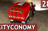 CityConomy #28 Kehrmaschine Stadt Service Simulator
