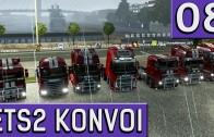 ETS2 Multiplayer KONVOI Multicam #8 Das Finale der tollen Reise Das 1k Abo Special deutsch HD