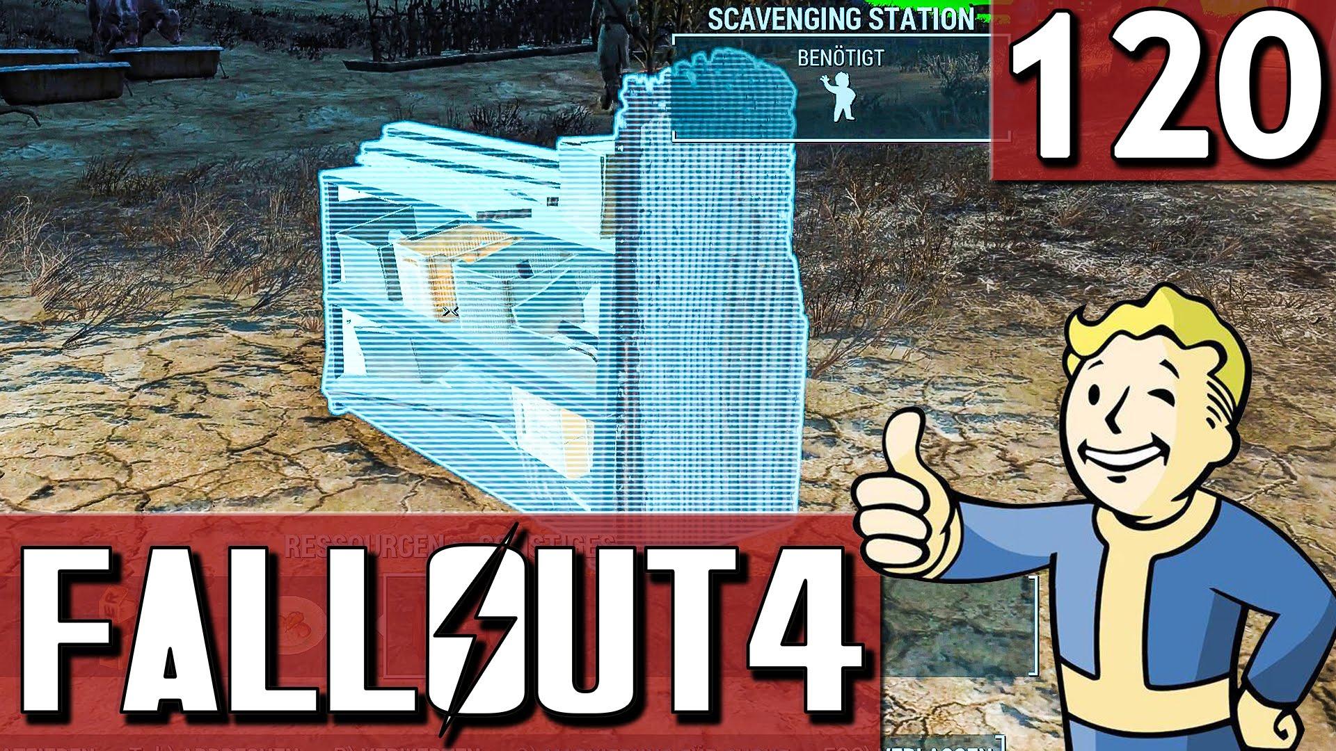 FALLOUT 4 #120 eben schnell is nich 60FPS HD Lets Play Fallout 4 deutsch