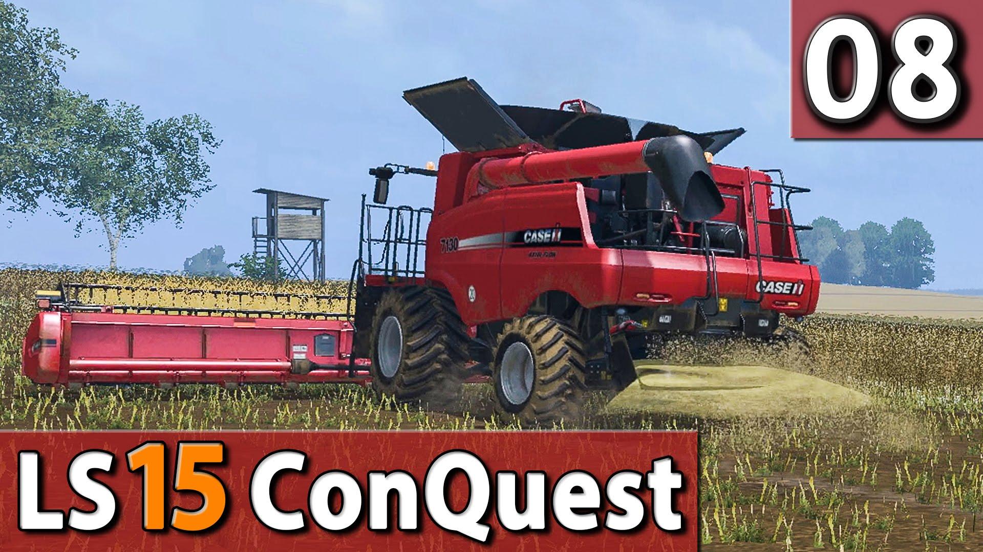 LS15 ConQuest #8 Maschinenplanung 60 FPS