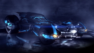 Rocket League: Batmobil kommt am 8. März für alle Plattformen