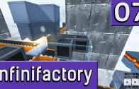Infinifactory #7 Ganz schön groß Der Logik Rätsel Fabriksimulator twitch Aufzeichnung