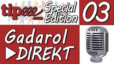 Fertig mit dem DRECKSSOUND – Gadarol ► DIREKT #3 [4/4] Tipeee SPECIAL