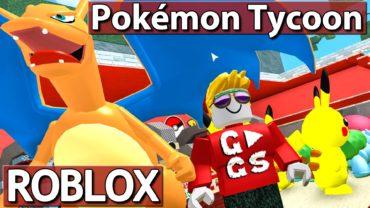 POKEMON NOOB meets ► Pokémon Tycoon | ROBLOX