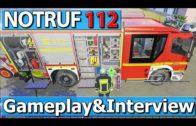 NOTRUF 112 GAMEPLAY & INTERVIEW