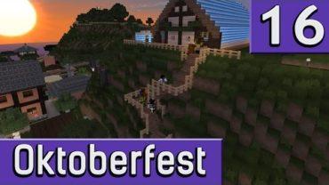 Hügelinger Oktoberfest ► Eindrücke von unserem Serv Erevent ► Minecraft Event