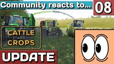 Community reacts to: Cattle and Crops GAMEPLAY und EARLY ACCESS Trailer