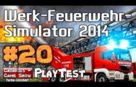 Werk Feuerwehr Simulator 2014 #20 Der Gadarol und der Umweltschutz Let´s Play deutsch HD