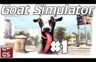 Goat Simulator #01 Die Ziegen Simulation deutsch german Lets Play