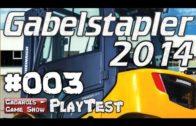 Gabelstapler 2014 #3 Chaosfahrt auf Fabrikgelände Der Stapler Simulator im Mini Lets Play deutsch