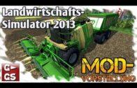 LS13 Mod Krone BigX 650 Cargo mit Bunker und IC Modvorstellung Landwirtschafts Simulator 2013