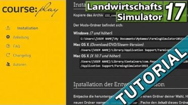 LS17 Courseplay BETA installieren ► TUTORIAL