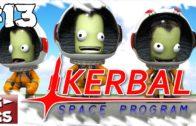 Kerbal Space Programm #13 Alles Neuigkeiten in Patch 023 Der Raumfahrt Simulator Lets Play deutsch