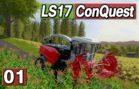 """LS17 ConQuest #1 ► EXKLUSIV Neue Map """"Nicolonia"""" & Kuhn DLC"""
