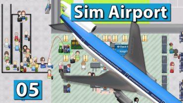 Sim Airport #5 ► SPEED BUILD und OPTIMIERUNGEN ► Der Flughafen Bau und Management Simulator