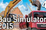 BauSimulator 2015 #4 Heftig Baggern auf dem Bau Die Baufirmen Management Simulation