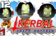 Kerbal Space Programm #12 Die Entwicklung schreitet voran Der Raumfahrt Simulator Lets Play deutsch