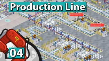 PRODUCTION LINE | Hohe Fertigungstiefe ► #4 Der AUTO FABRIK SIMULATOR deutsch german