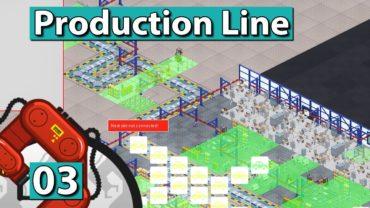 PRODUCTION LINE | EXPANSION und TEILEBAU ► #3 Der AUTO FABRIK SIMULATOR deutsch german
