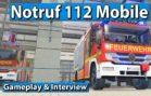 Notruf 112 Mobile Game – Feuerwehr Simulation als App ► gamescom 2017