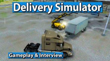 Delivery Simulator ► Liefern wagen im Lieferwagen ► gamescom 2017