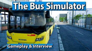 The Bus Gameplay ► Mit Scania im Multiplayer durch Berlin ► gamescom 2017