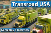 Transroad USA – Das neue TransOcean mit LKW Gameplay und Interview ► gamescom 2017