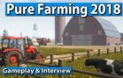 Pure Farming 2018 Gameplay und Interview ► gamescom 2017