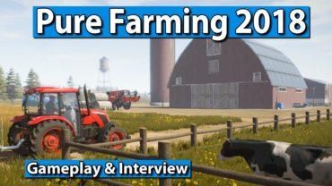 Pure Farming 2018 Gameplay und Interview ► gamescom 2017
